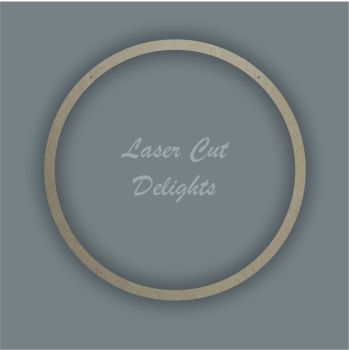 Large Hoop Plain Surround / Laser Cut Delights