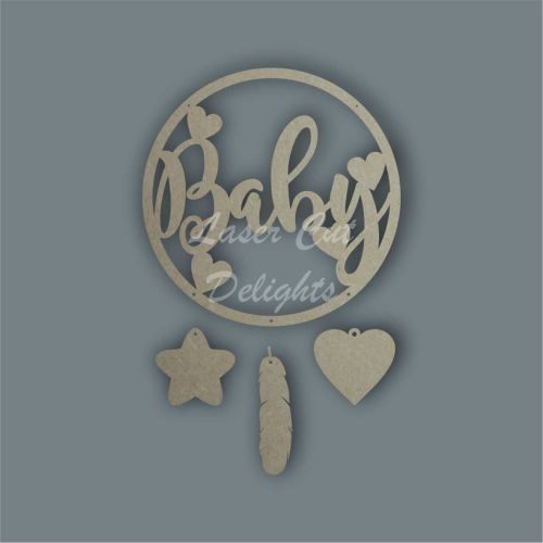Dream Catcher - Baby / Laser Cut Delights