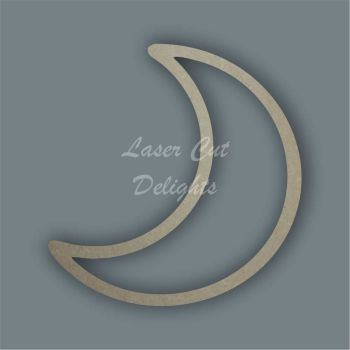 Moon Outline / Laser Cut Delights