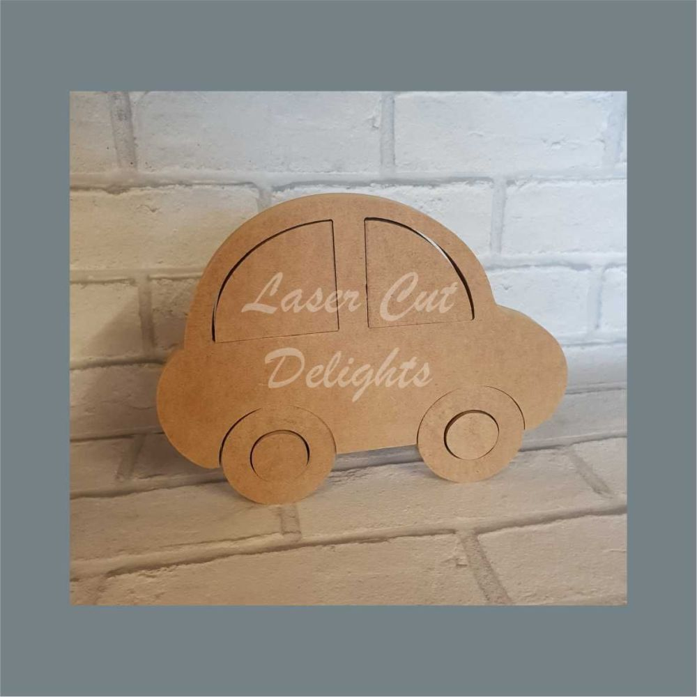 Puzzle - Car 18mm / Laser Cut Delights