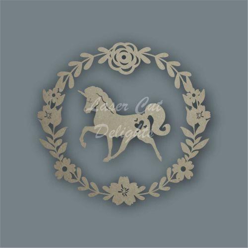 Wreath with Unicorn