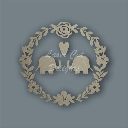 Wreath with Elephants