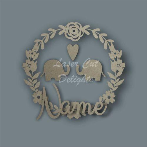 Wreath Flower Elephant NAME