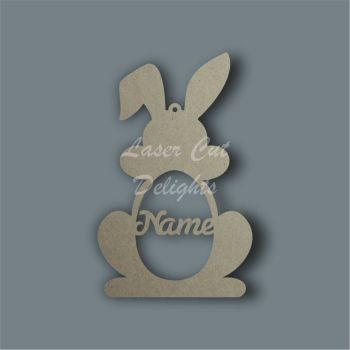 Bauble RABBIT Personalised / Laser Cut Delights