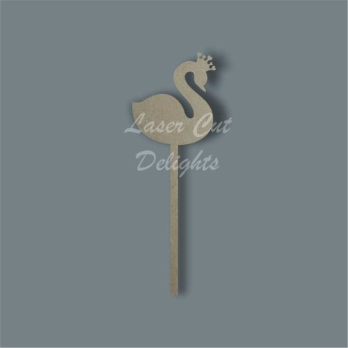 Swan Wand / Laser Cut Delights