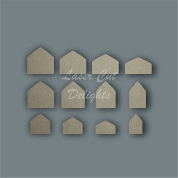 Tiny Houses 18mm / Laser Cut Delights
