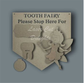 3D Tooth Fairy Plaque / Laser Cut Delights
