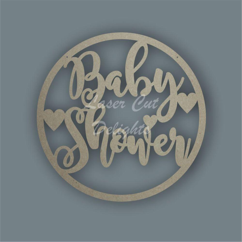 Large Hoop Baby Shower / Laser Cut Delights