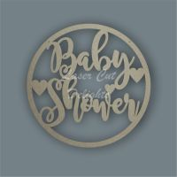 Large Hoop Baby Shower / Laser Cut Delights