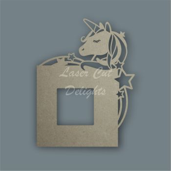 Stencil Unicorn Light Surround / Laser Cut Delights