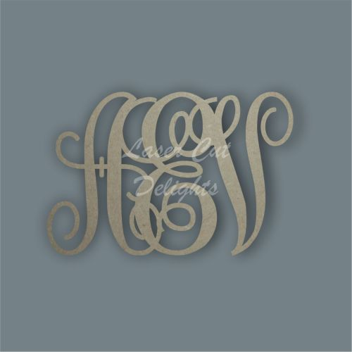 Monogram Letters / Laser Cut Delights