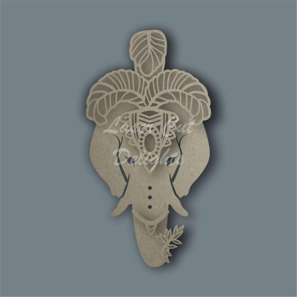 Headdress Elephant / Laser Cut Delights