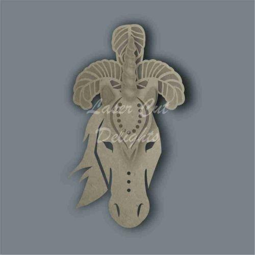 Headdress Unicorn / Laser Cut Delights