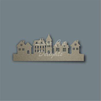 3D Village Town Street Scene / Laser Cut Delights