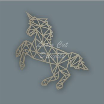 Geometric Unicorn Full / Laser Cut Delights