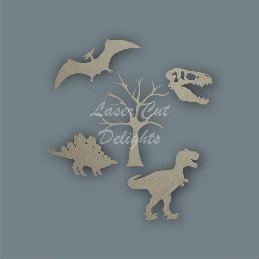 Dinosaur Shape Pack / Laser Cut Delights