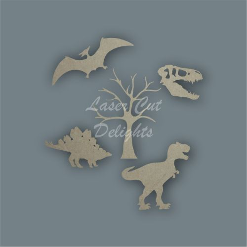 Dinosaur Shape Pack / Laser Cut Delights