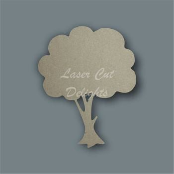 Tree Full Rounded / Laser Cut Delights