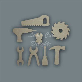 Tools Shape Pack / Laser Cut Delights