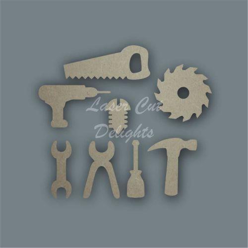 Tools Shape Pack / Laser Cut Delights