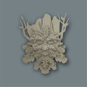 Layered Green Tree Man / Laser Cut Delights
