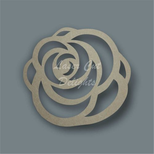 Rose  2 Stencil / Laser Cut Delights