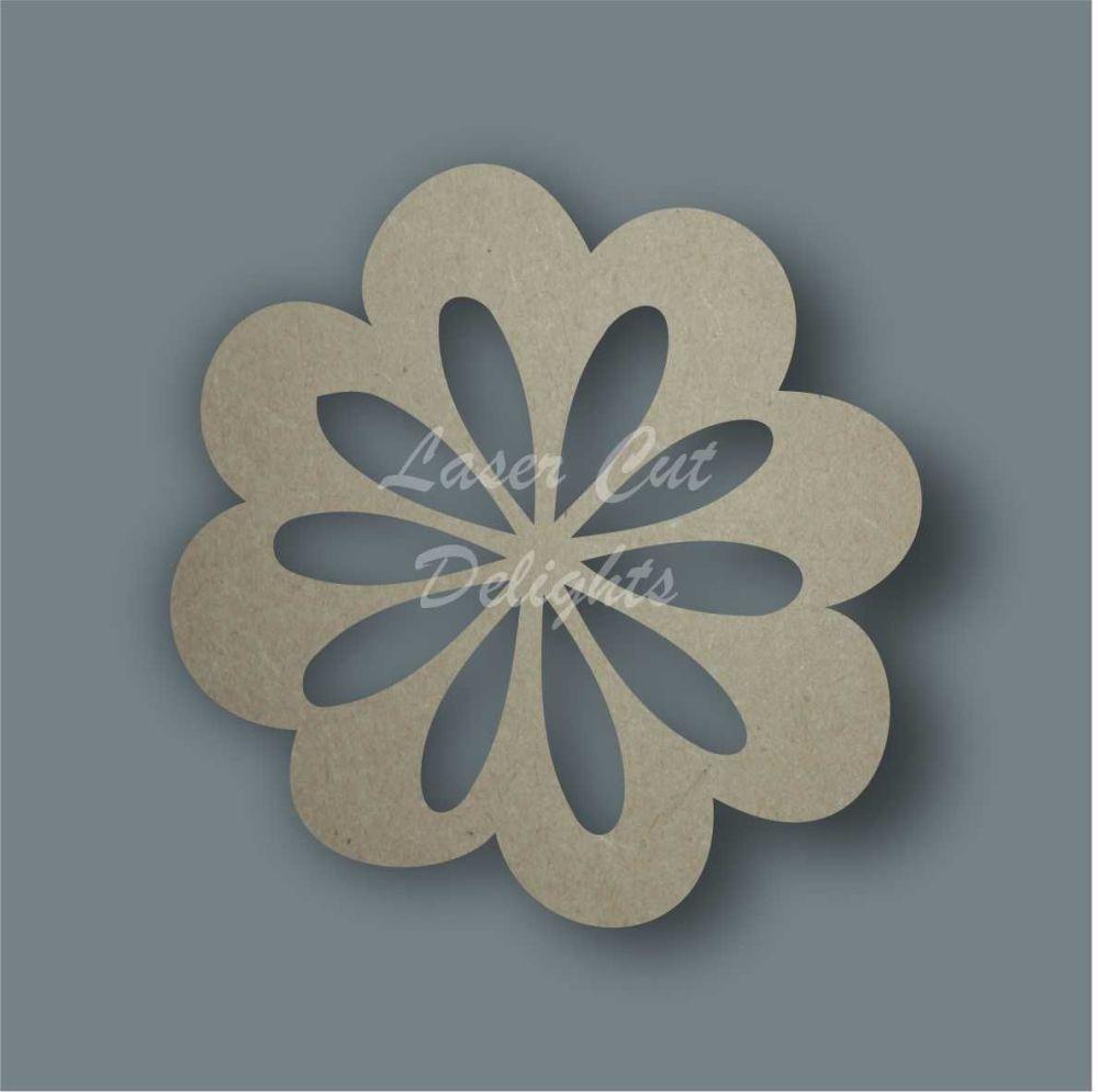 Flower 1 Stencil / Laser Cut Delights