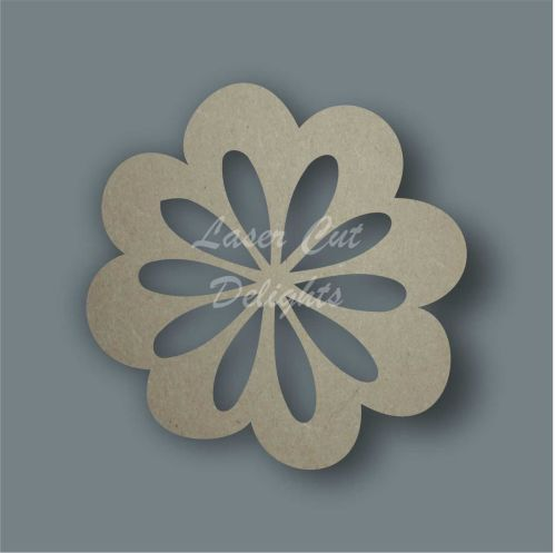 Flower  1 Stencil / Laser Cut Delights