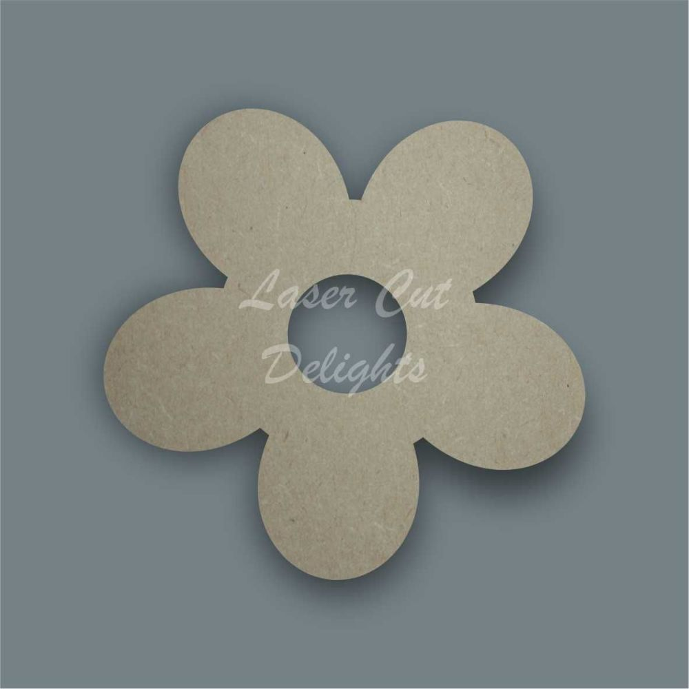Flower 3 Stencil / Laser Cut Delights