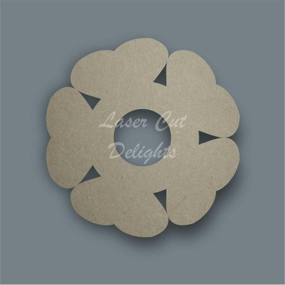 Flower 4 Stencil / Laser Cut Delights