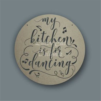 Cut Through - My kitchen is for dancing / Laser Cut Delights