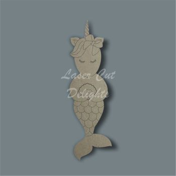 Unicorn Mermaid / Laser Cut Delights