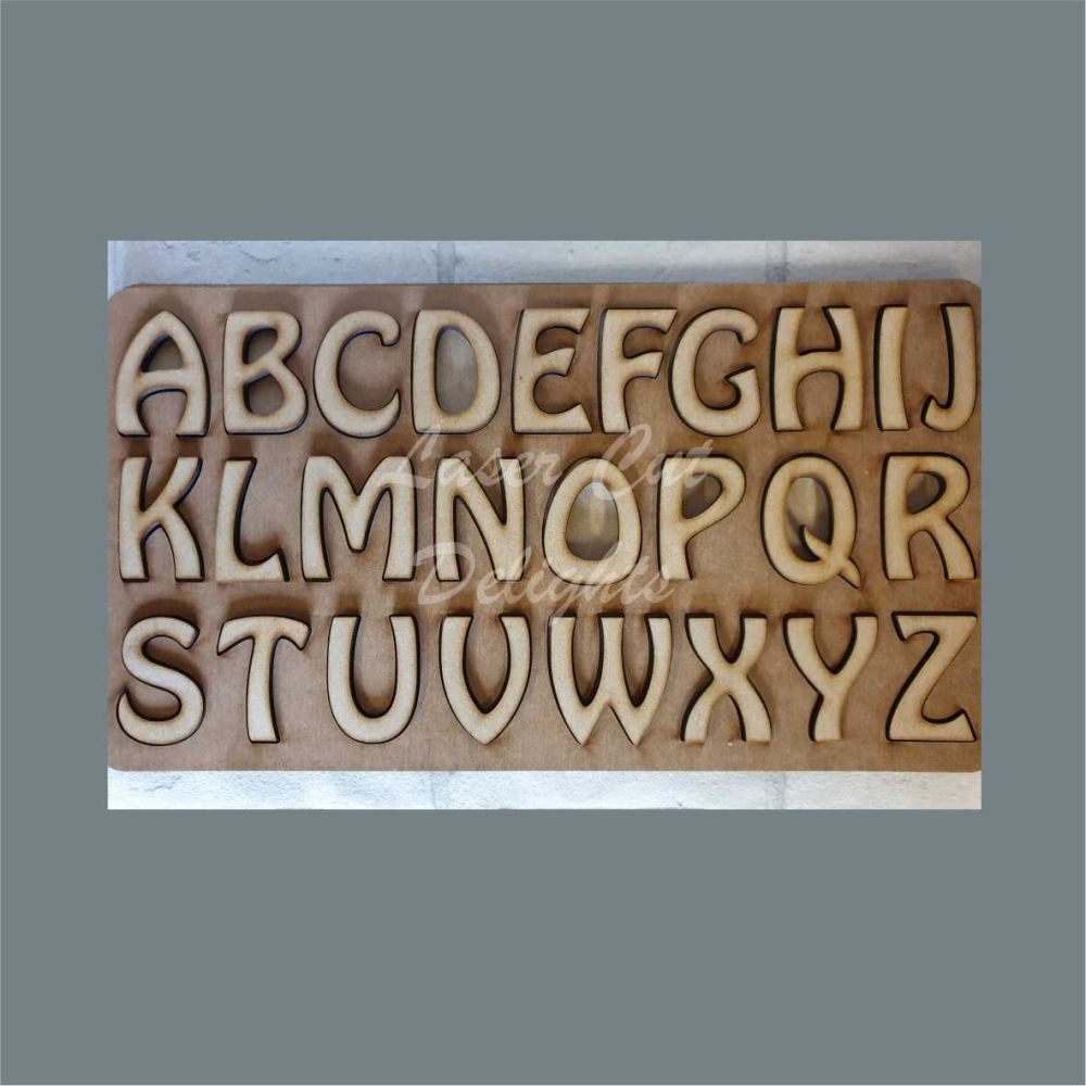 Word Puzzles Slots ALPHABET / Laser Cut Delights