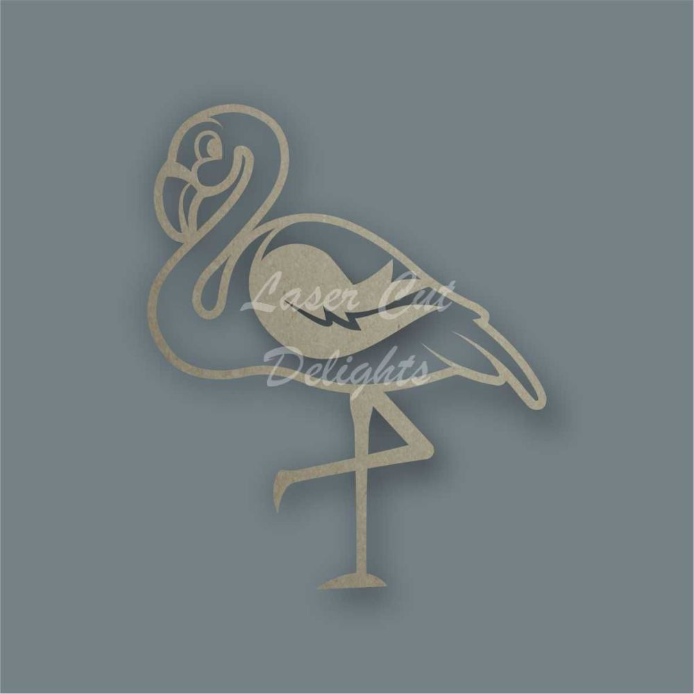 Flamingo Stencil / Laser Cut Delights