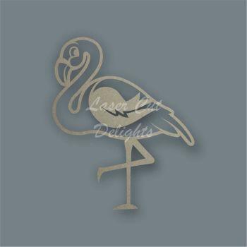 Flamingo Stencil / Laser Cut Delights