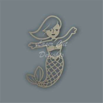 Mermaid Stencil / Laser Cut Delights
