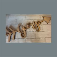 Name Arrows / Laser Cut Delights