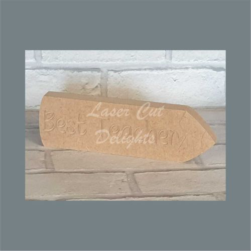 Pencil - Best Teacher Personalised / Laser Cut Delights
