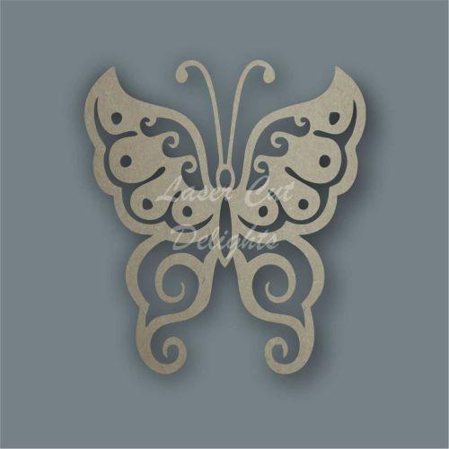 Butterfly Fancy Stencil / Laser Cut Delights
