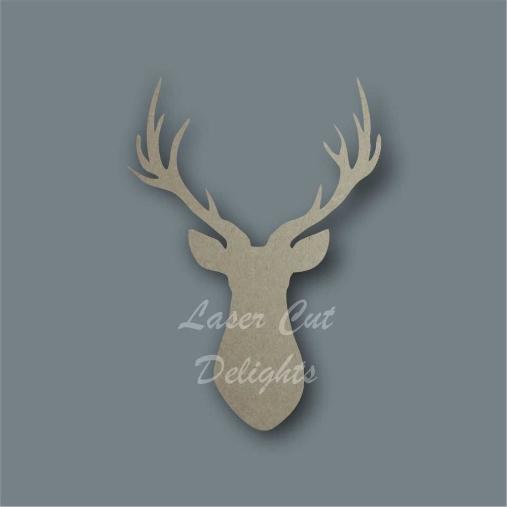 Stag Buck Silhouette / Laser Cut Delights