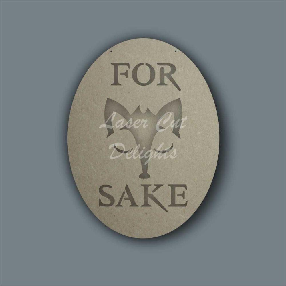 Layered Animal - For FOX Sake / Laser Cut Delights