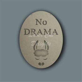 Layered Animal - No Drama Llama / Laser Cut Delights