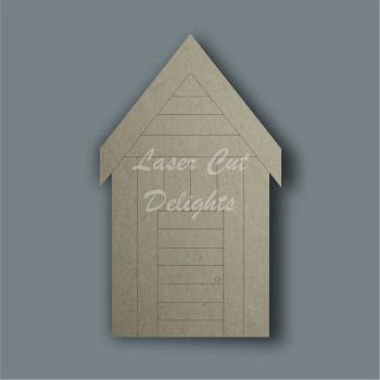 Shed Beach Hut / Laser Cut Delights