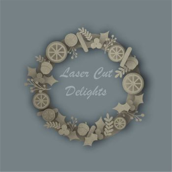 Wreaths Wood Wooden Mdf Ply Craft Shape Craft Shapes Craft
