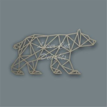 Geometric Bear / Laser Cut Delights