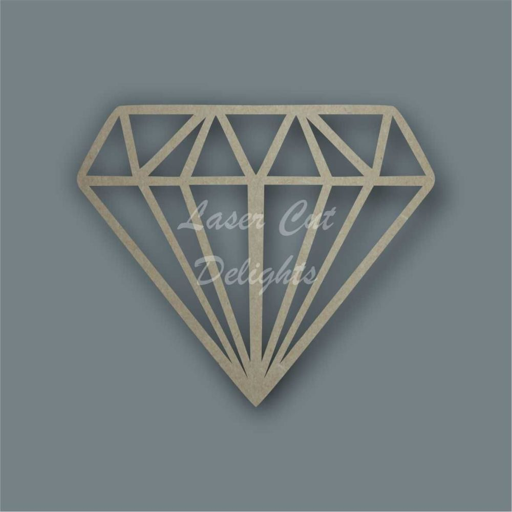 Geometric Diamond  / Laser Cut Delights