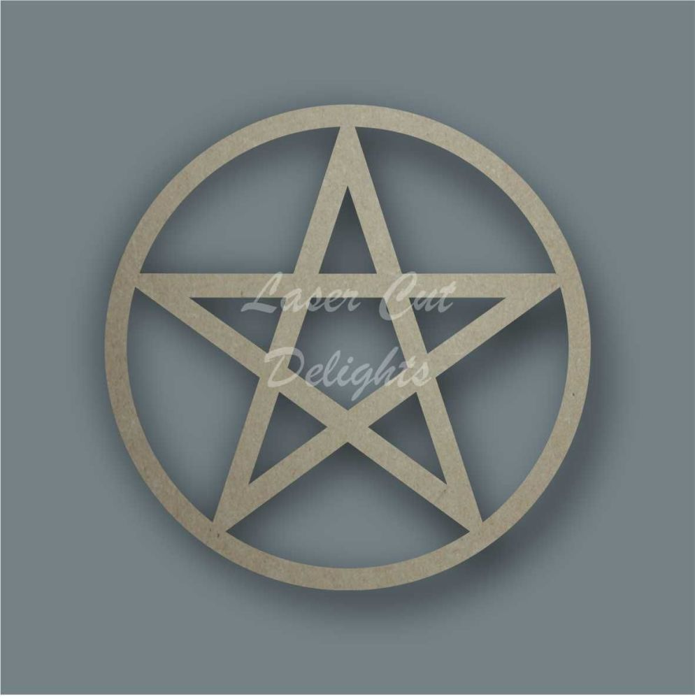 Pentacle Stencil / Laser Cut Delights
