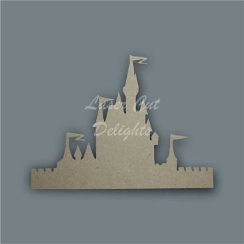 Castle Princess with Walls / Laser Cut Delights
