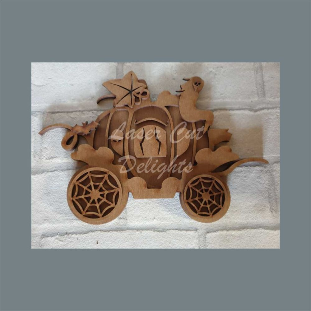 Pumpkin Carriage Layered / Laser Cut Delights