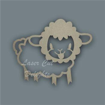 Sheep Stencil / Laser Cut Delights